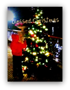 The Little red-hooded boy & the X'mas tree